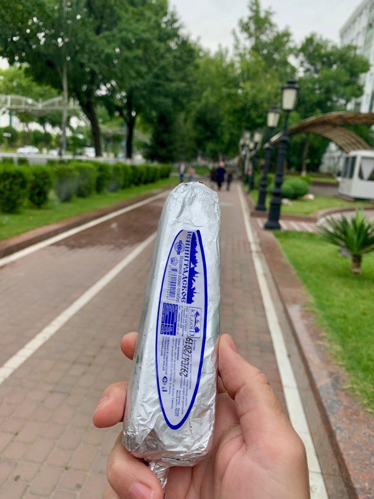 Eis aus Usbekischer Produktion