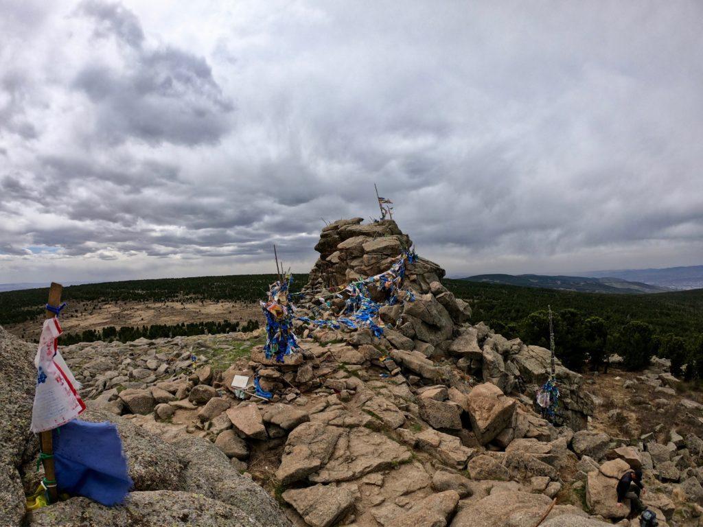 Gipfel vom Tsetsee Gun
