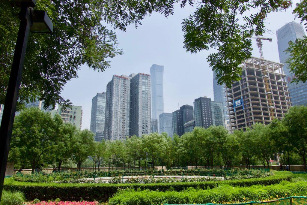 World Trade District - Peking