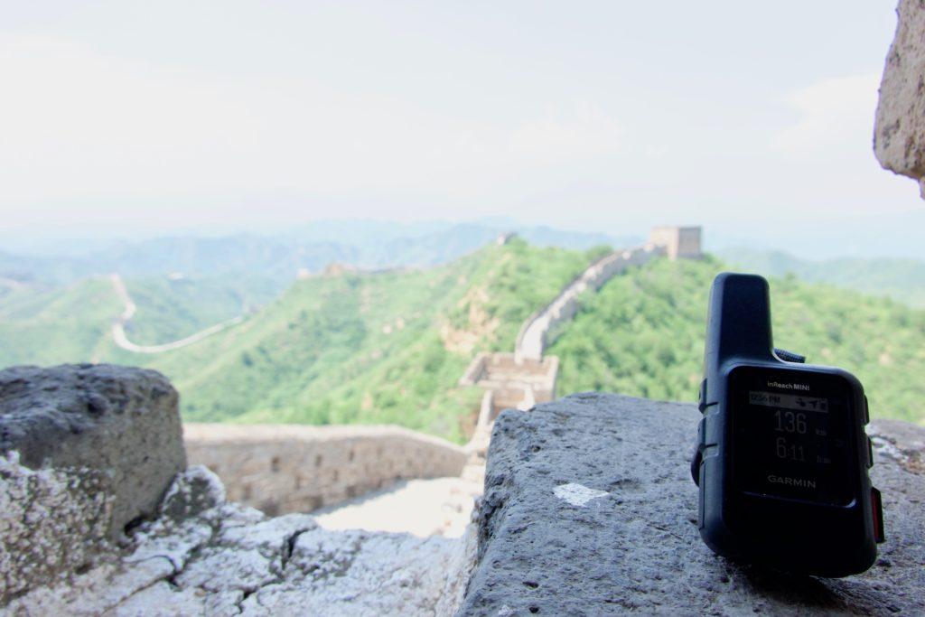 """Garmin Inreach Mini auf der """"Great Wall"""""""