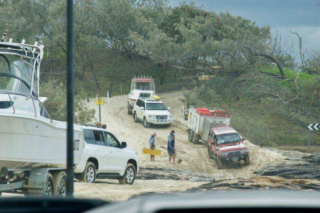 Offroad auf Sand in Fraser Island