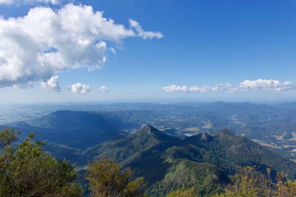 Aussicht vom Mount Warning