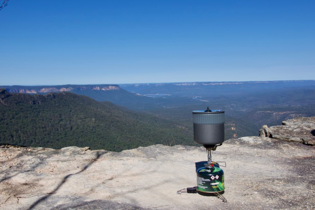Lookout beim Mount Solitary - Blue Mountains