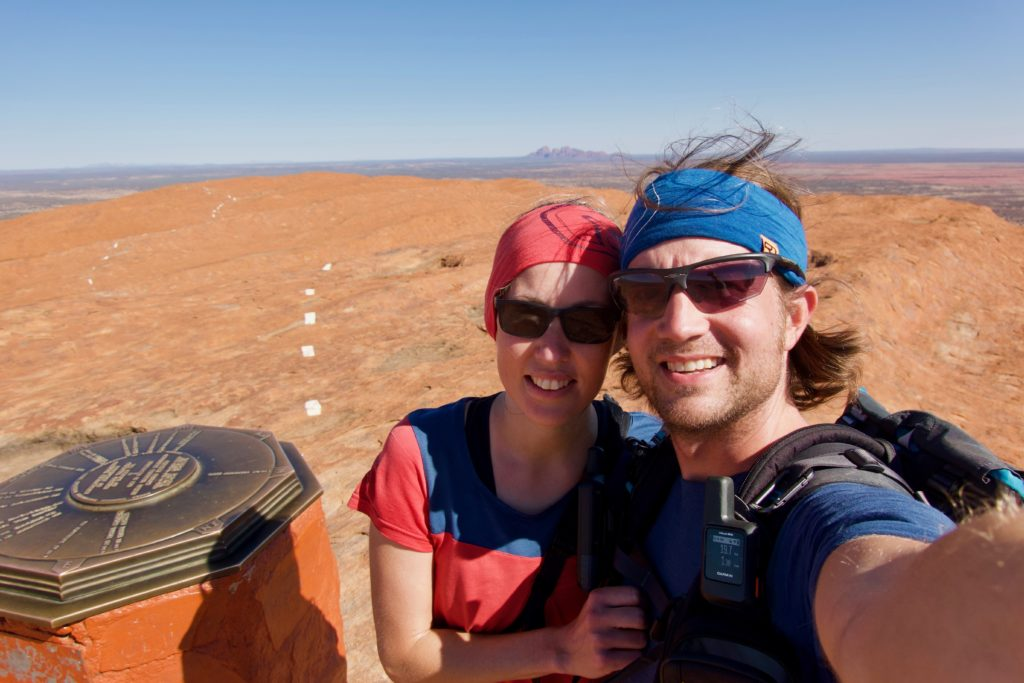 Gipfel vom Uluru