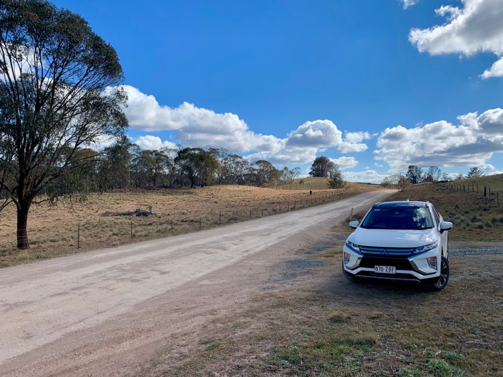 Mitsubishi Eclipse Cross vor Gloucester NSW