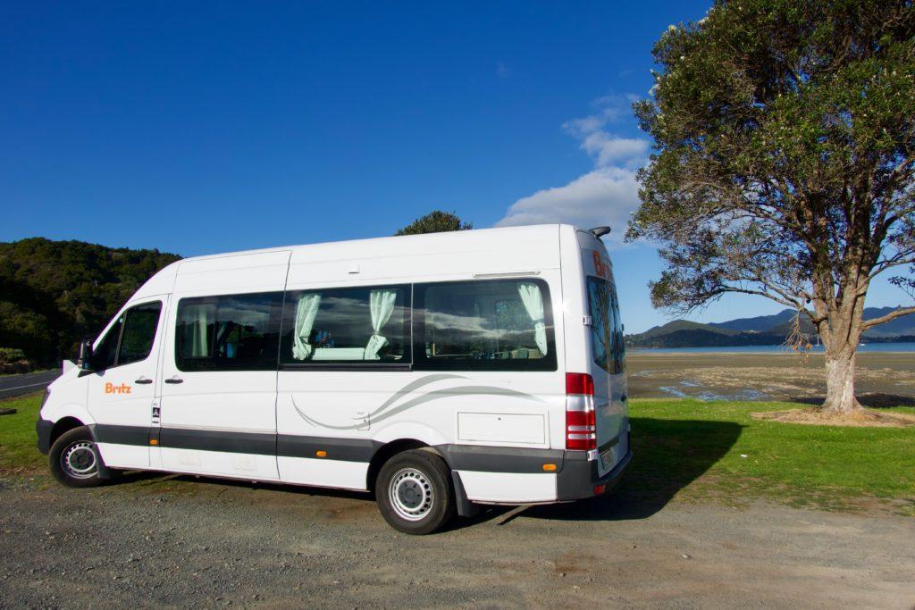 Unser Camper für Neuseeland