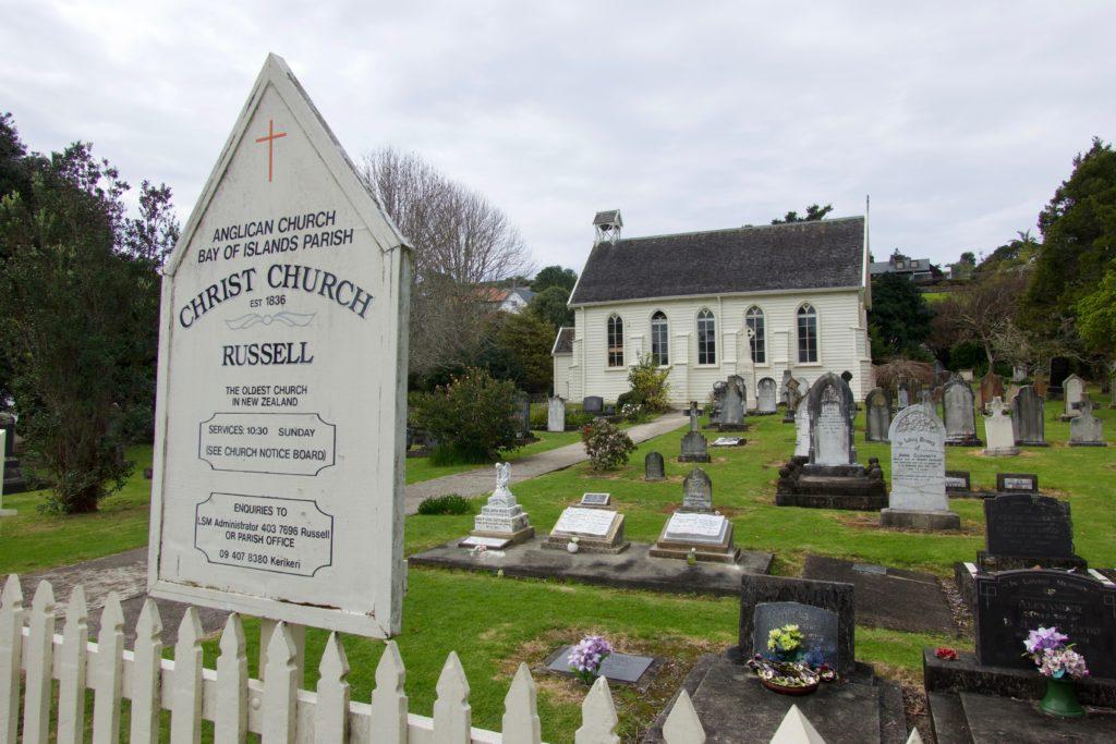 Älteste Kirche von Neuseeland in Russell