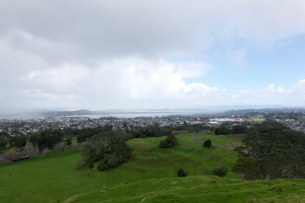 Auckland vom One Tree Hill aus