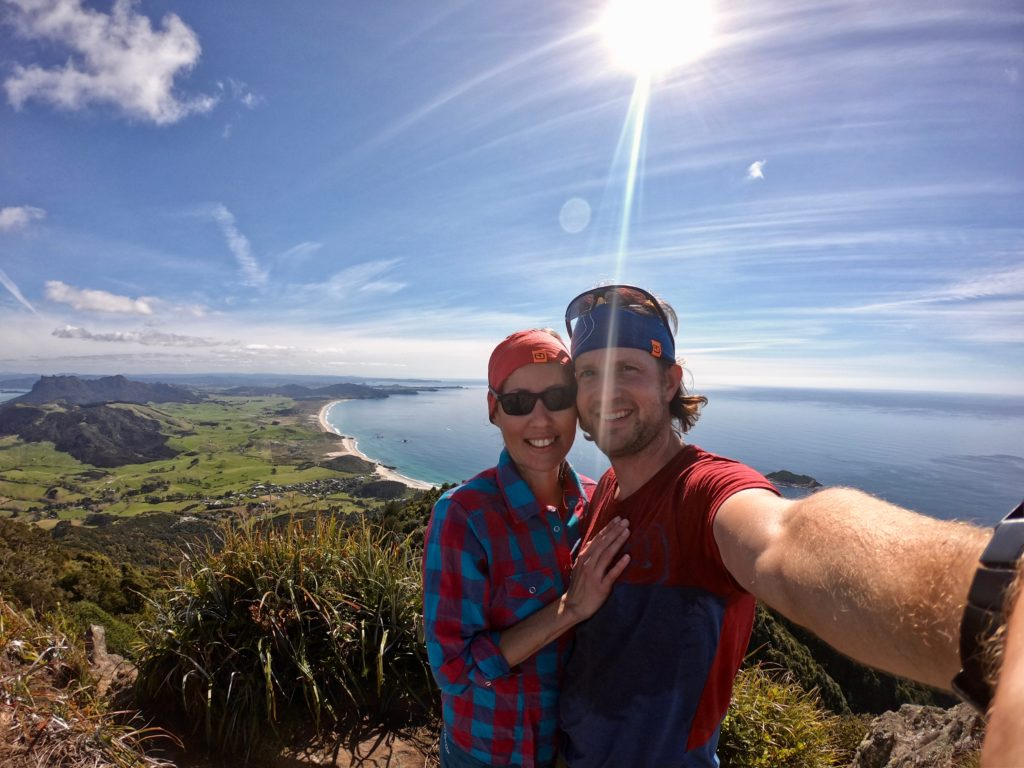 Gipfel vom Mount Te Whara