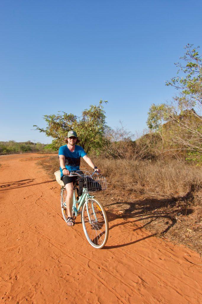 """Erste """"Bike""""-Tour auf der Weltreise"""