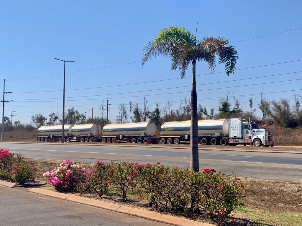 Road Train in Port Hedland