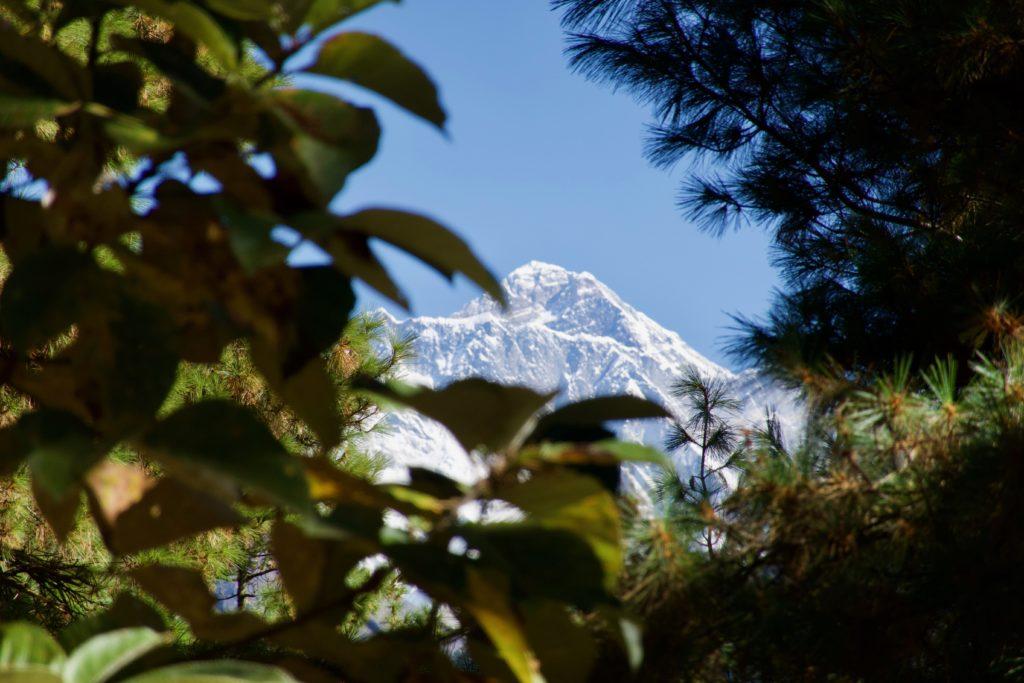 Everest aus der Ferne