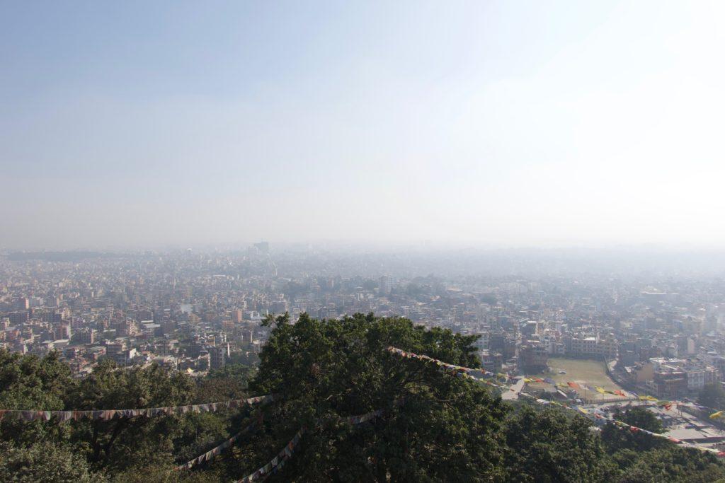 Kathmandu vom Monkey-Temple