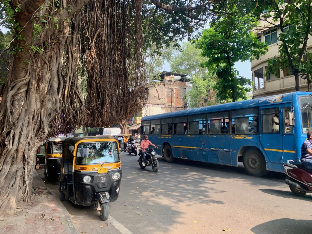 Strassenszene in Pune