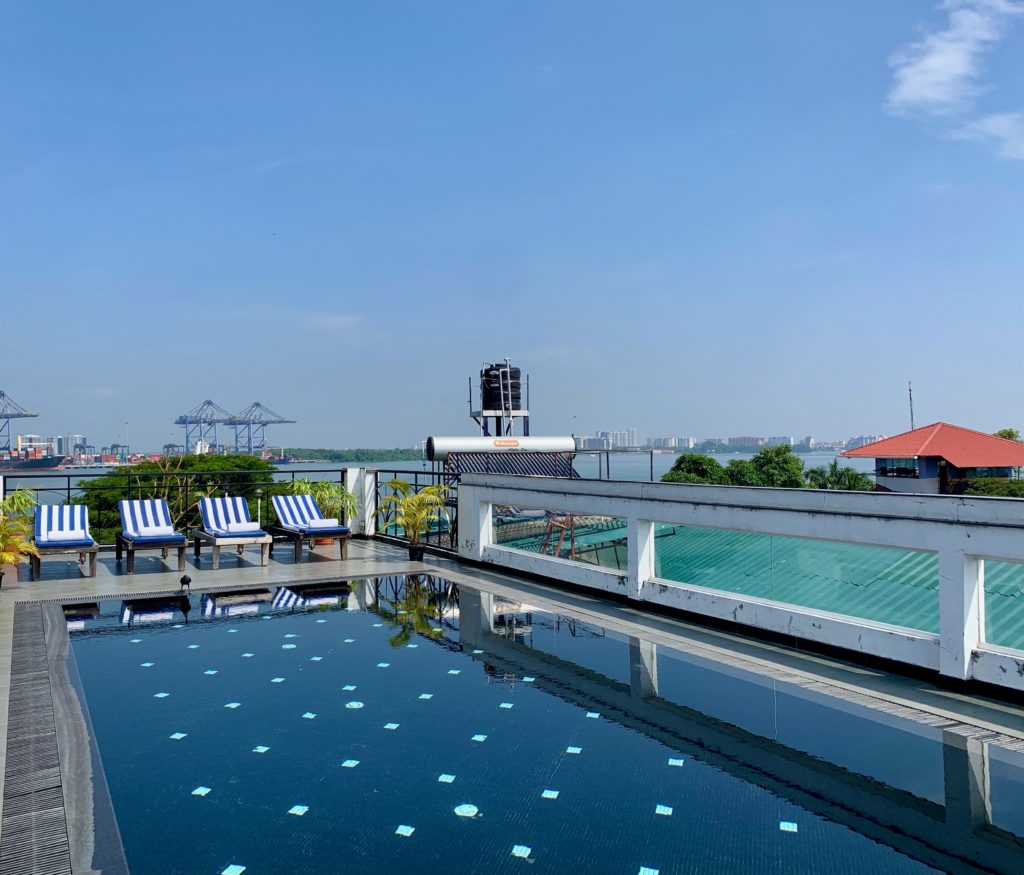Unser Hotel in Fort Kochi