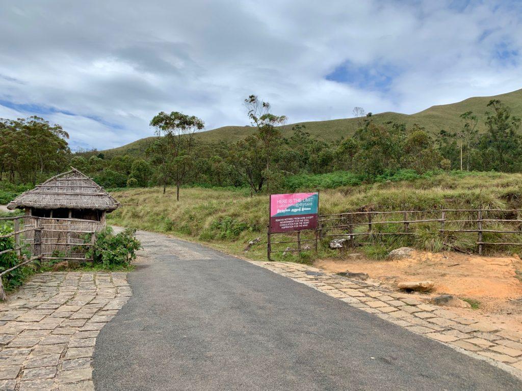 Ende des Wegs zum Anamudi Peak - Eravikulam Nationalpark