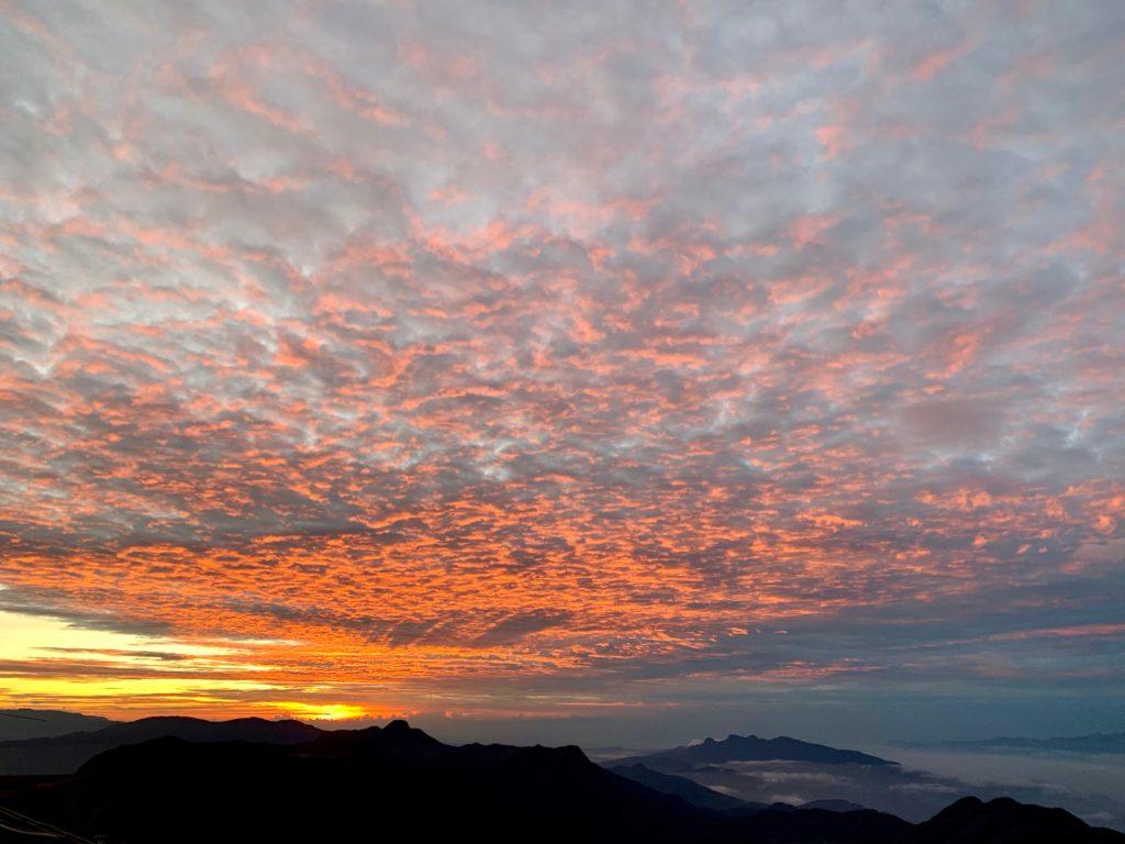Morgenrot auf dem Adams Peak