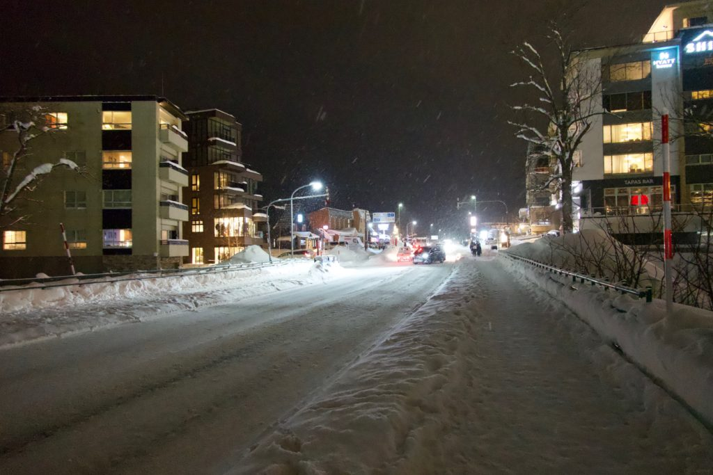 Niseko by Night