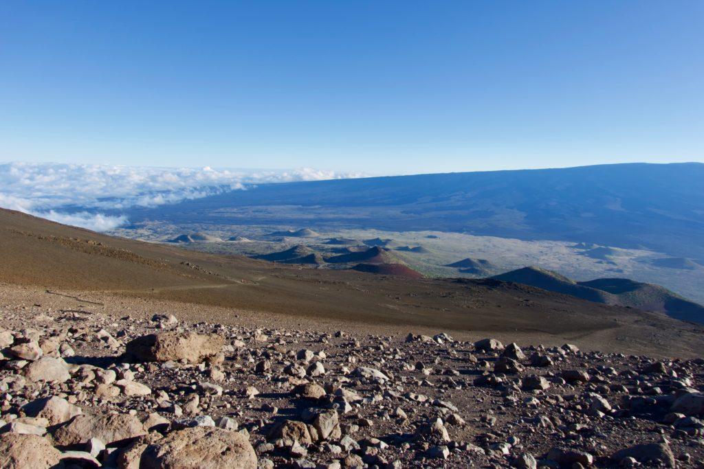 Abstieg vom Mauna Kea