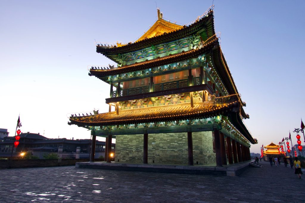 Xi'an - Stadtmauer