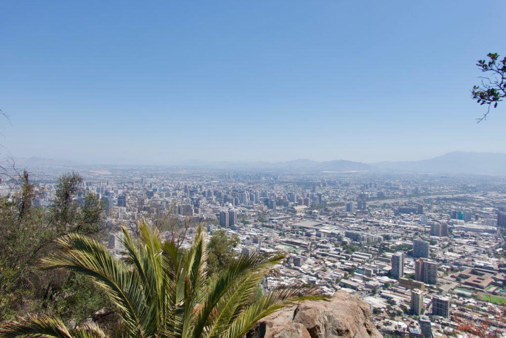 Sicht vom Cerro San Cristobal