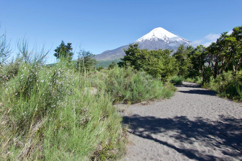 Vulkan Osorno vom Sendero Desolación
