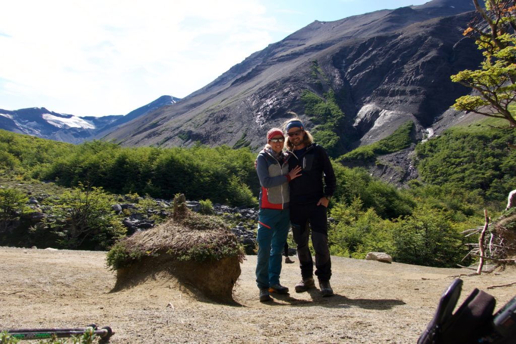 Partnerlook in Patagonien