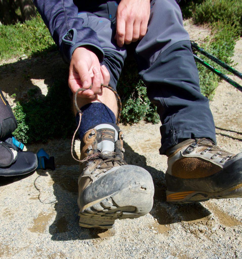 Schuhbändelriss - Patagonien