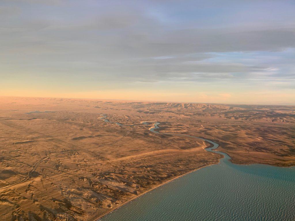 Patagonien von oben
