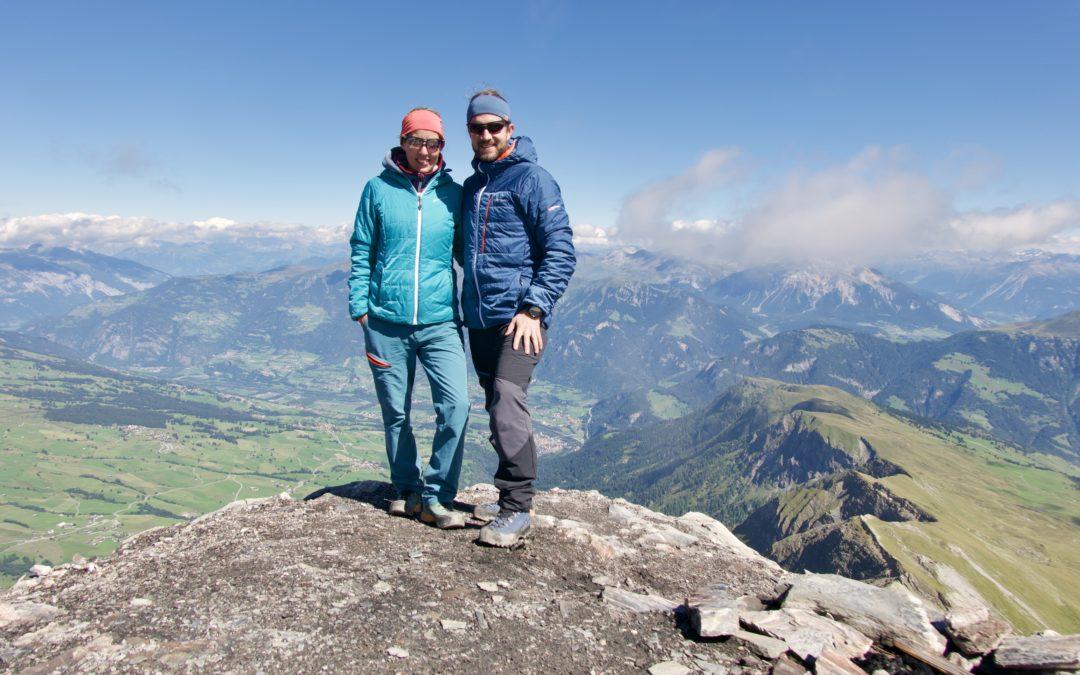 Erste Ferien nach Weltreise (Andeer/Engadin/Interlaken)
