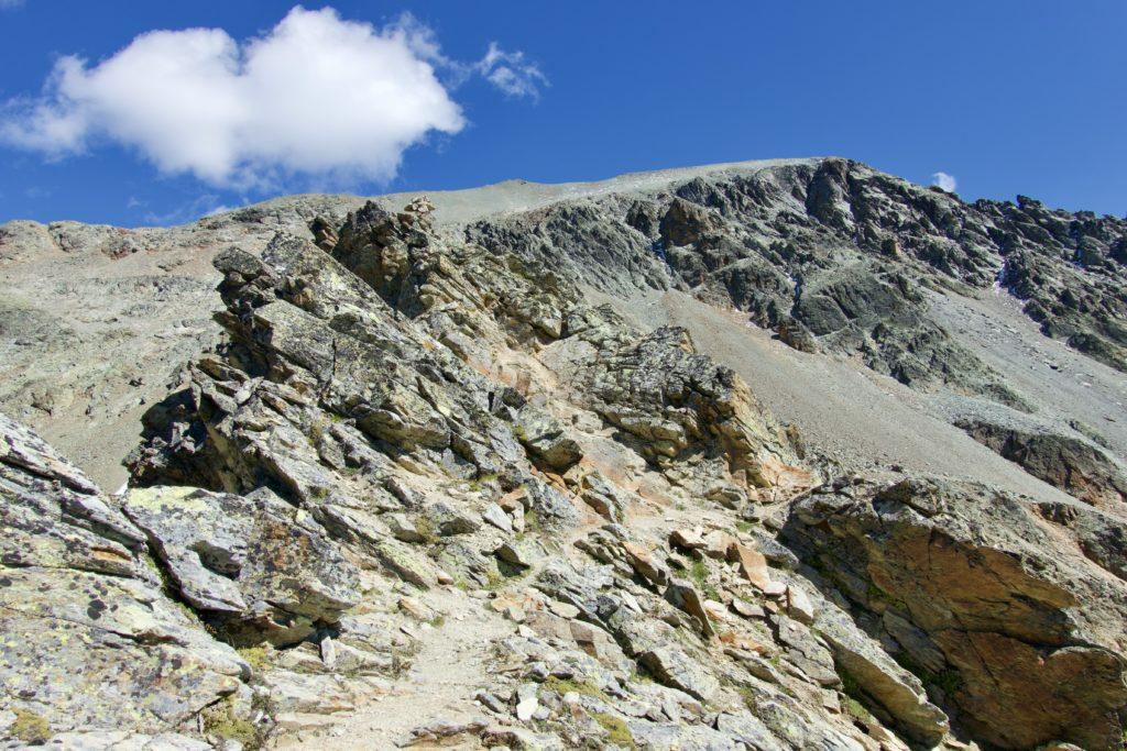 Aufstieg zum Piz d'Agnel