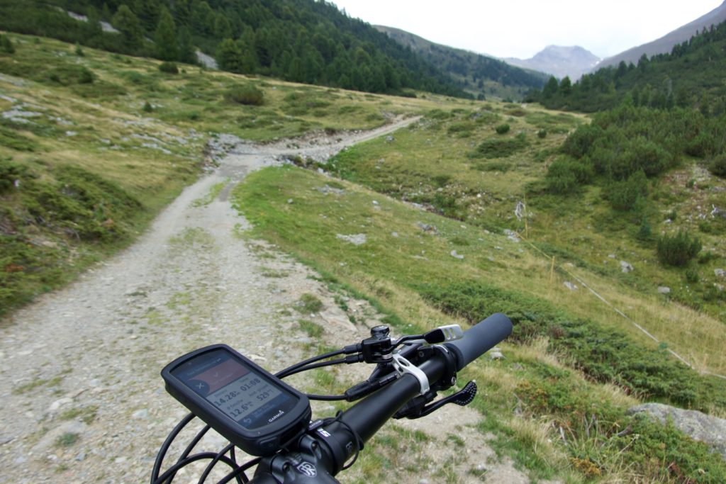 Nach der Alp Serlas